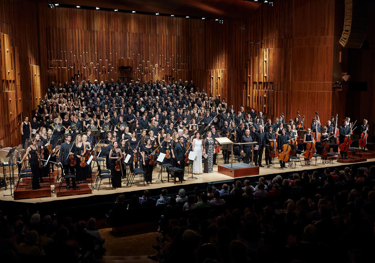 The Guildhall Symphony Orchestra in the Barbican Hall