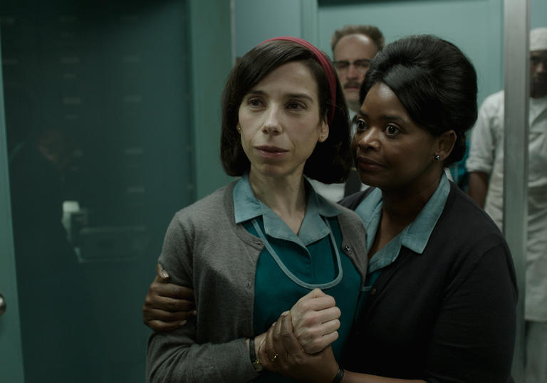 Octavia Spencer and Sally Hawkins star in The Shape of Water