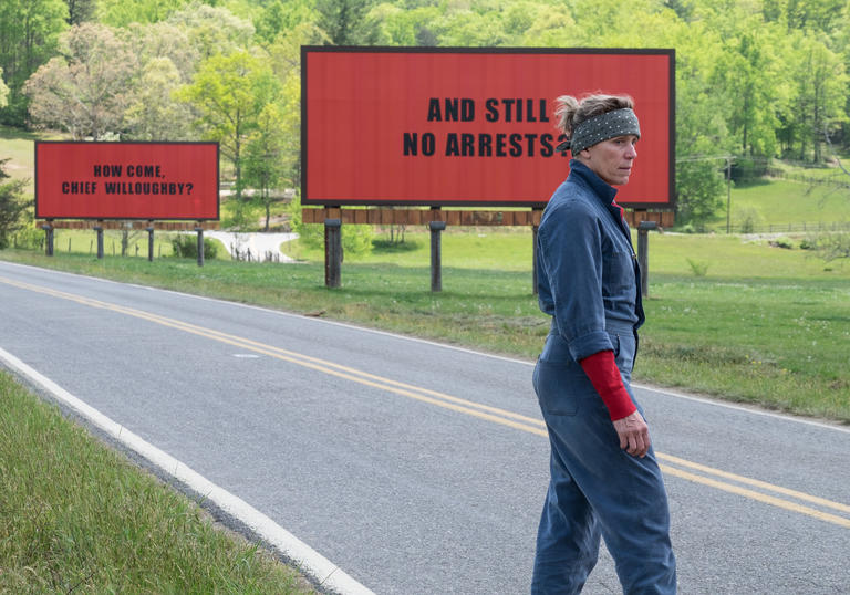 'How come, Chief Willoughby?' Frances McDormand in Three Billboards