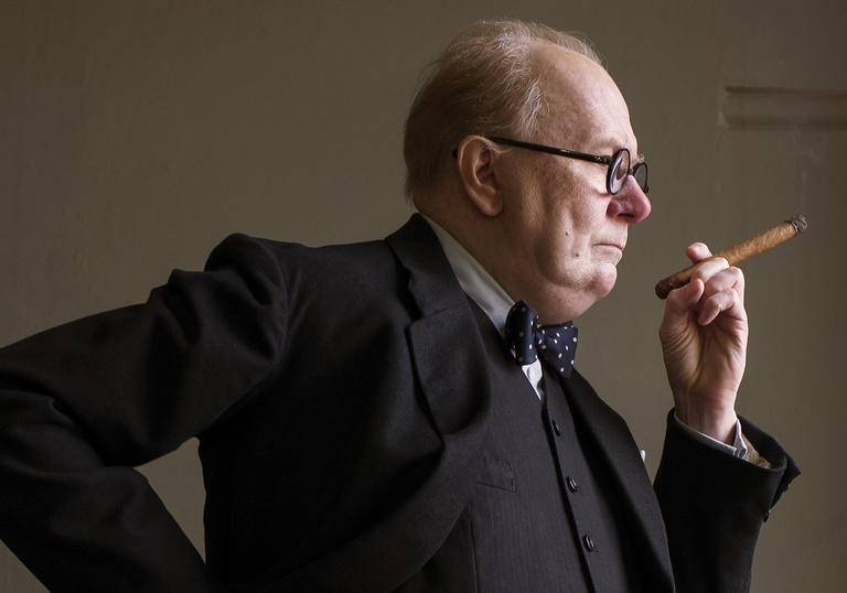 Gary Oldman stars as Winston Churchill in Darkest Hour