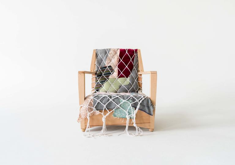 Chair upholstered by Second Sitters