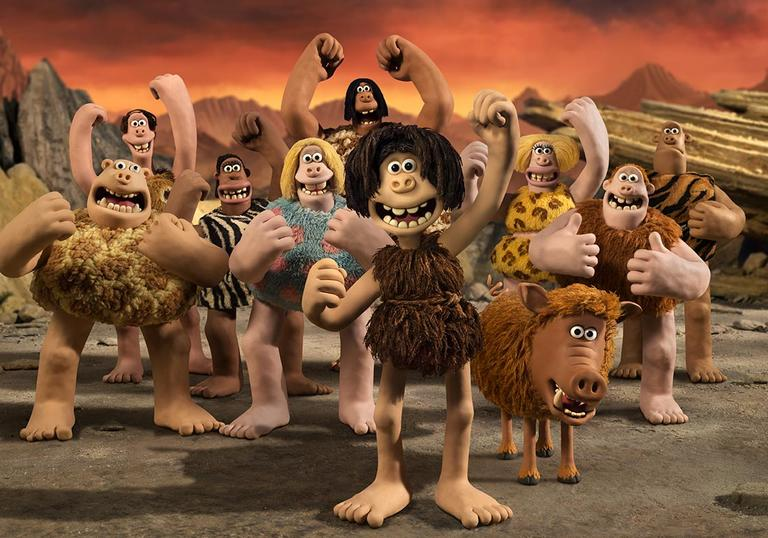 A still from Aardman Animation's Early Man