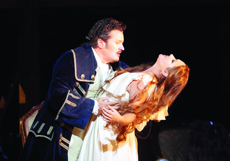 From the Metropolitan Opera's production of Adriana Lecouvrer