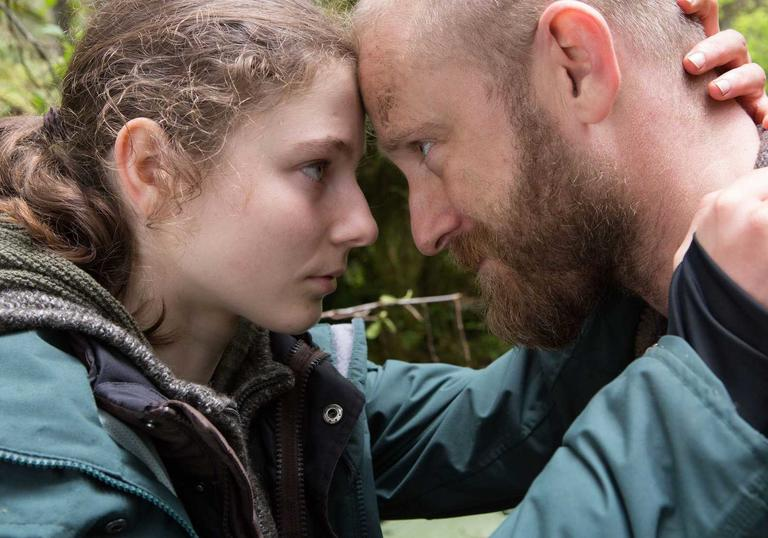 Ben Foster and Thomasin McKenzie star in Leave No Trace