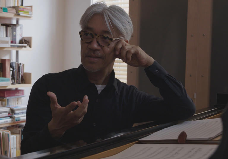 Ryuichi Sakamoto takes us through his life and work