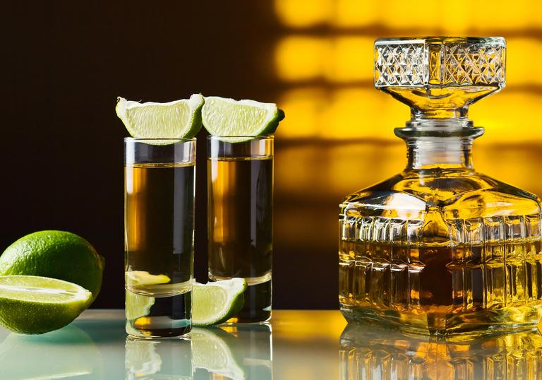 Tequila and Mezcal tasting