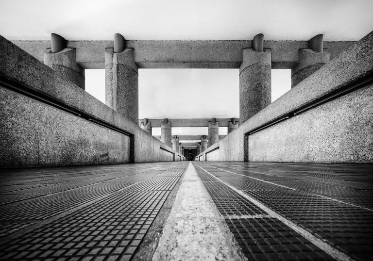 Image of Barbican Brutalist Architecture by Nicholas Triantafyllou