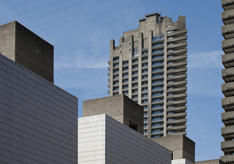 Image of Barbican Brutalist Architecture