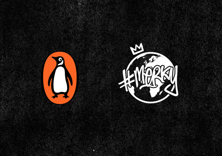 image of penguin and stormzy logo