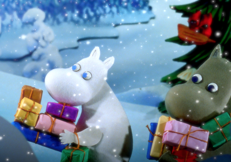 Moomins in the Winter Wonderland