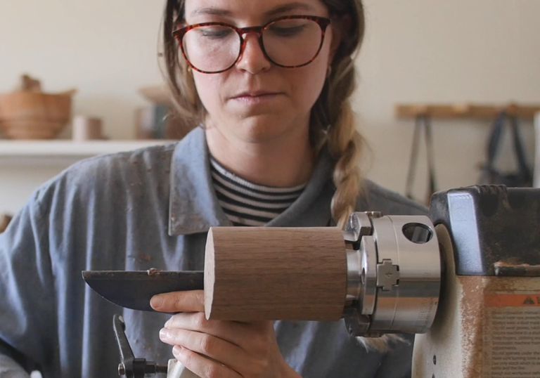 maker elise mclauchlan turning wood