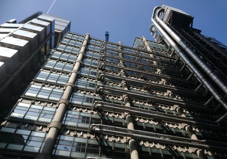 Image of Brutalist Architecture in the Square Mile as part of walking tour with Chris Rogers and make! The New Brutal
