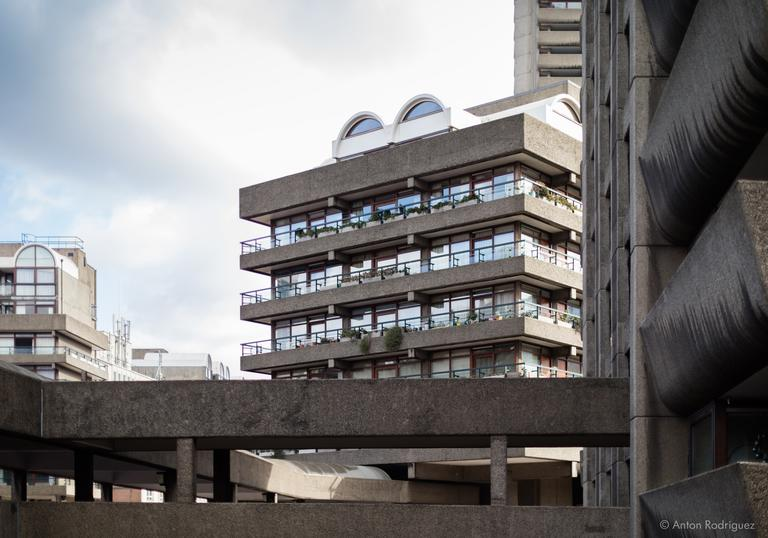 Image of Barbican Brutalist Architecture by Anton Rodriguez