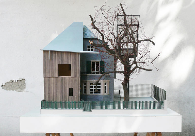 Sauter von Moos, House with a Tree
