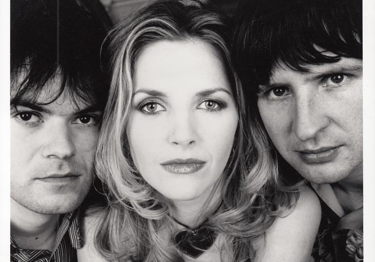 A Polaroid photo of Saint Etienne