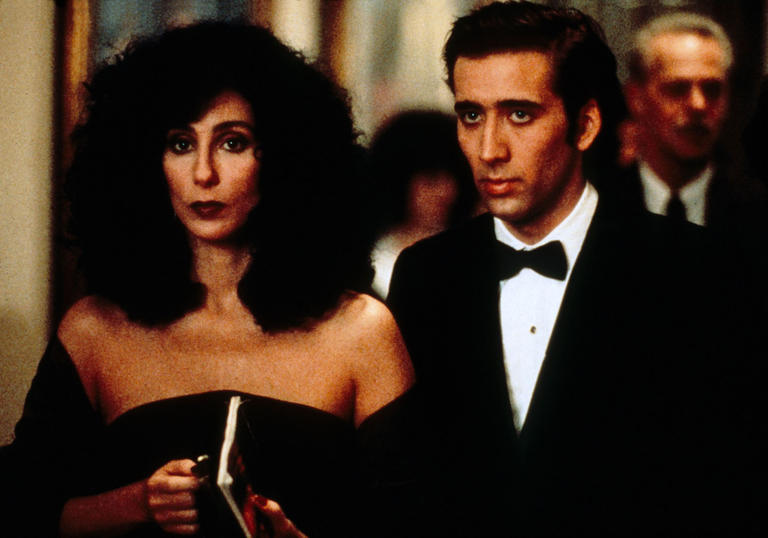 Image of Cher and Nicolas Cage