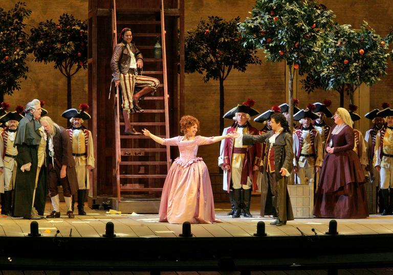 Met Opera Summer Encore Il Barbiere Di Siviglia 12a Barbican