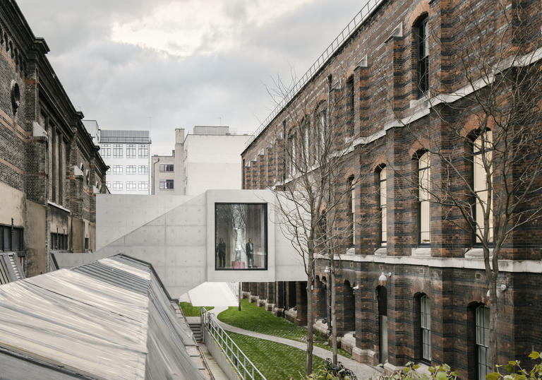 Refurbishment of the Royal Academy of Arts in London
