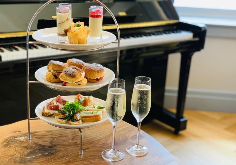 Italian Afternoon Tea at Osteria