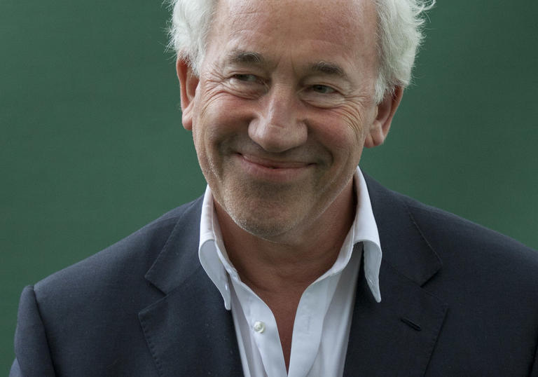 Image of Simon Callow smiling