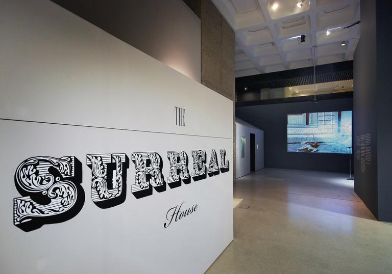 Installation view of Surreal House