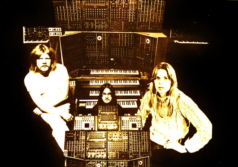 Tangerine Dream Exhibition at the Barbican