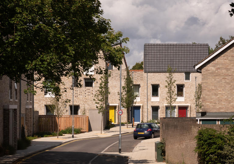 Goldsmith Street in Norwish, winner of the 2019 RIBA Stirling Prize