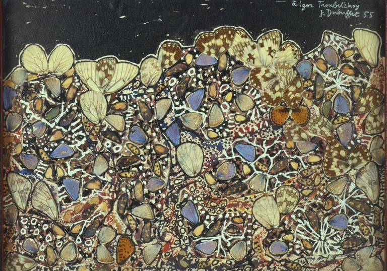 A painting from Jean Dubuffet