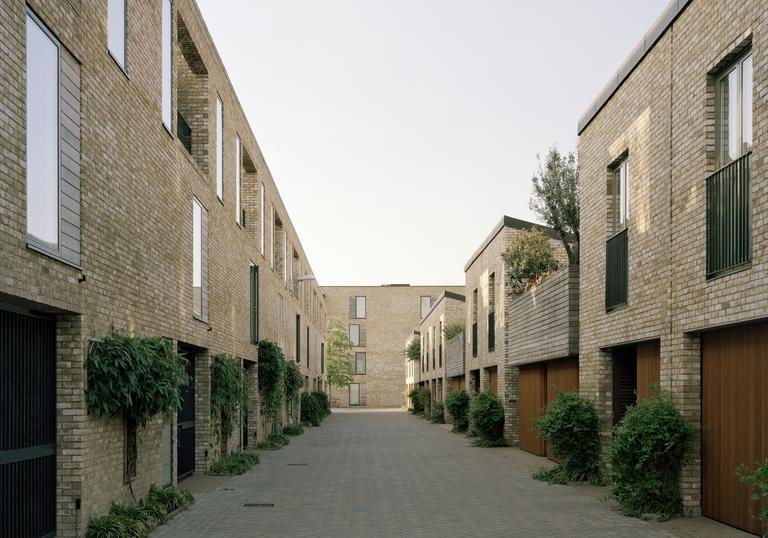 A photo of the Cambridge housing project Accordia, which won the RIBA Stirling Prize in 2008