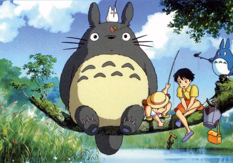 still from my neighbour totoro