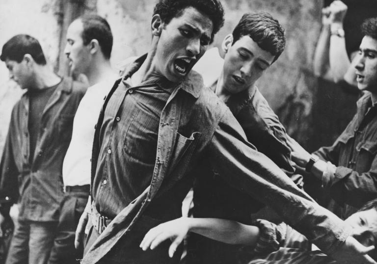 An image from the Battle of Algiers