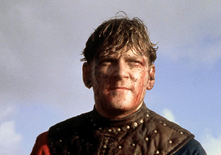 Photo of Kenneth Brannagh in Henry V