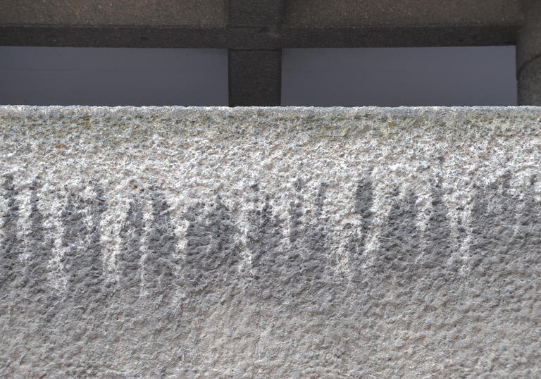 Photo of concrete in the Barbican Estate