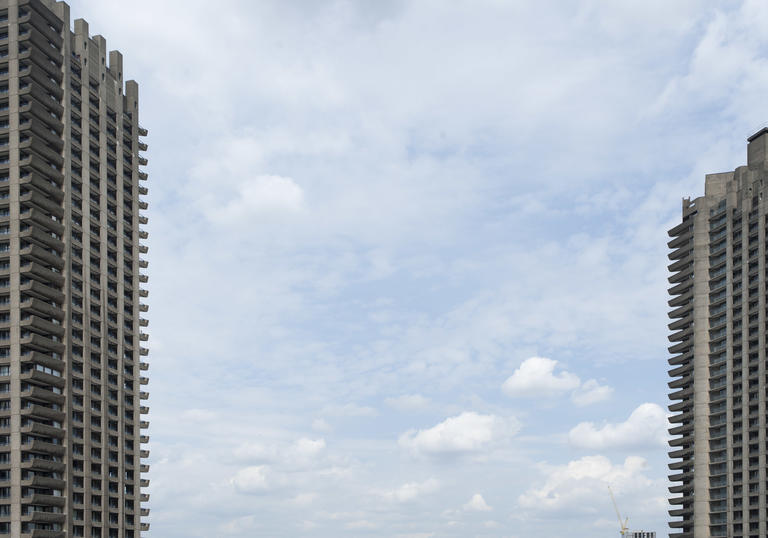 Photo of Barbican towers