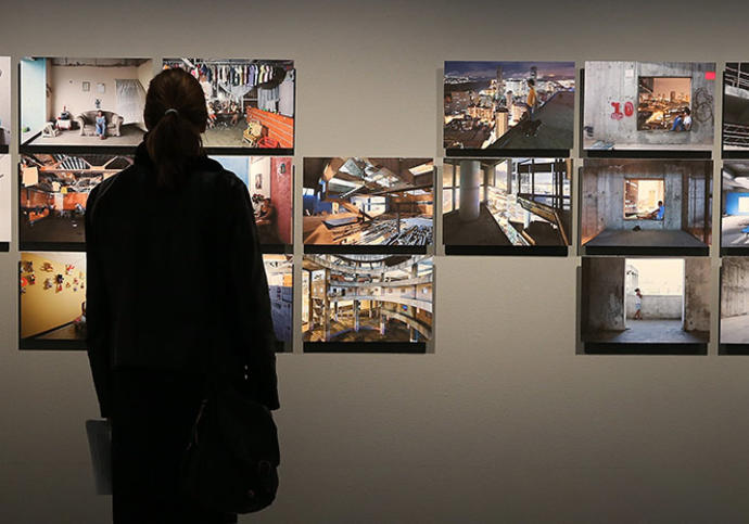 Photo of Constructing Worlds exhibition