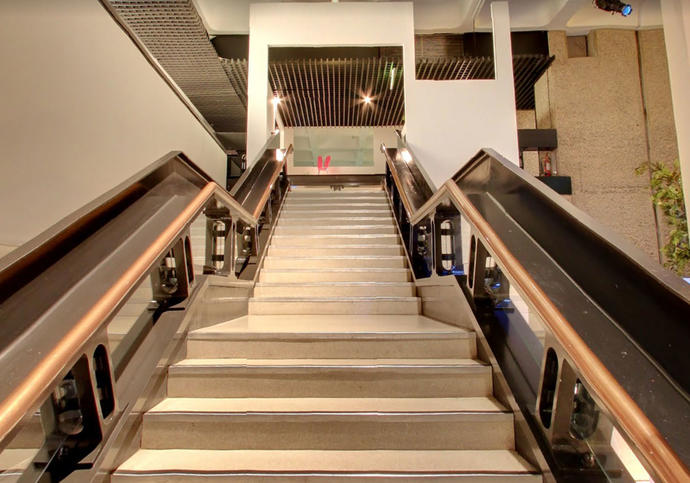 Photo of stairs inside Art Gallery on Google Cultural Institute