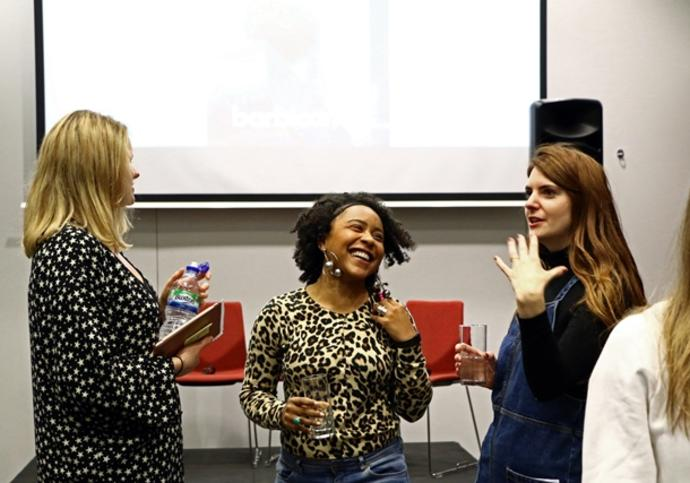 All laughs and smiles at Creative Careers: October Networking