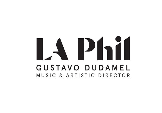 Logo for LA Phil