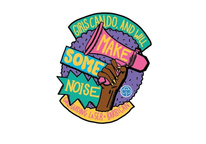 Badge design for Girl Guides
