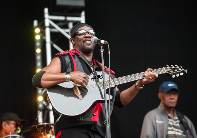 Photo of Toots and the Maytals performing