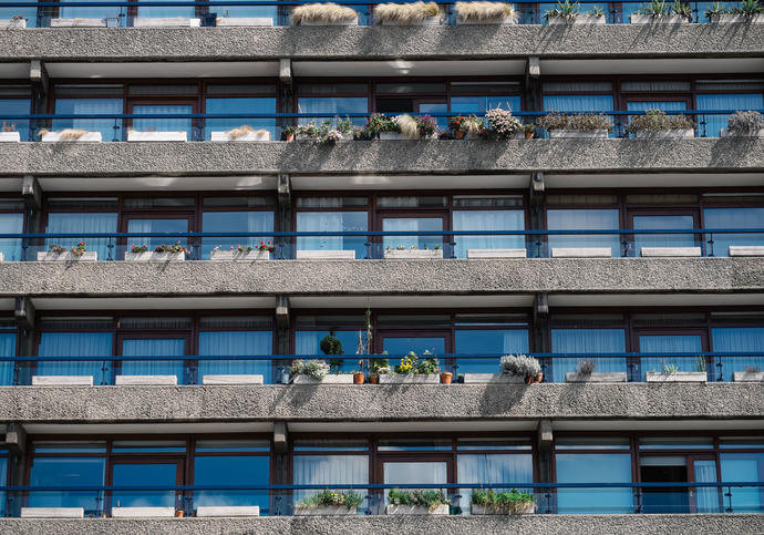 Photo of Barbican residential estate