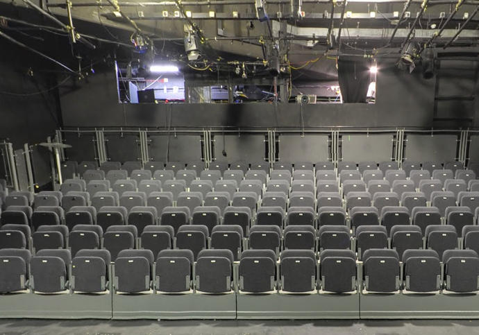Photo of the Barbican Pit theatre