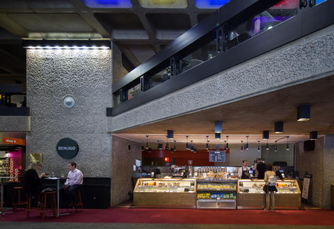 Foyer Bars And Cafe Barbican