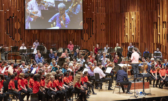 Photo of London Symphony Orchestra in the Barbican Hall