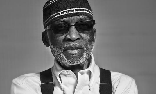 Ahmad Jamal wearing his shades