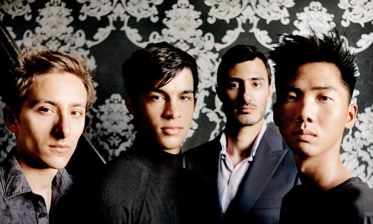 Quatuor Arod group image 2017