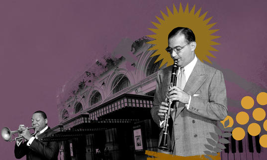 Benny Goodman collage