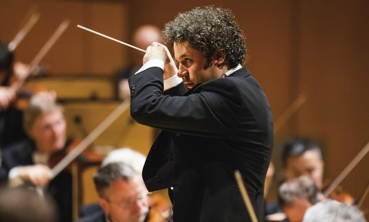 Gustavo Dudamel conducting the LA Phil