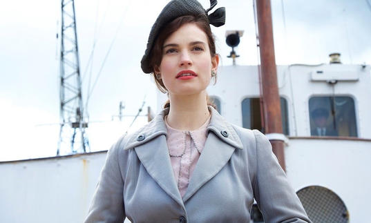 A still from The Guernsey Literary and Potato Peel Society
