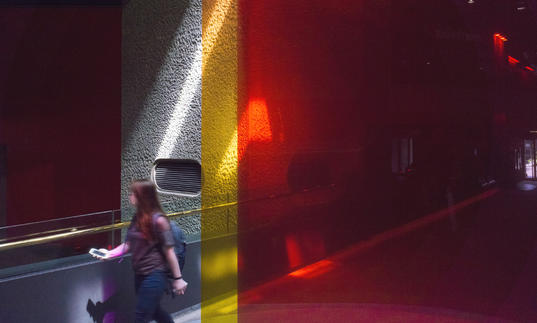 Image of Trokia Borrowed Light Barbican Centre Level G installation